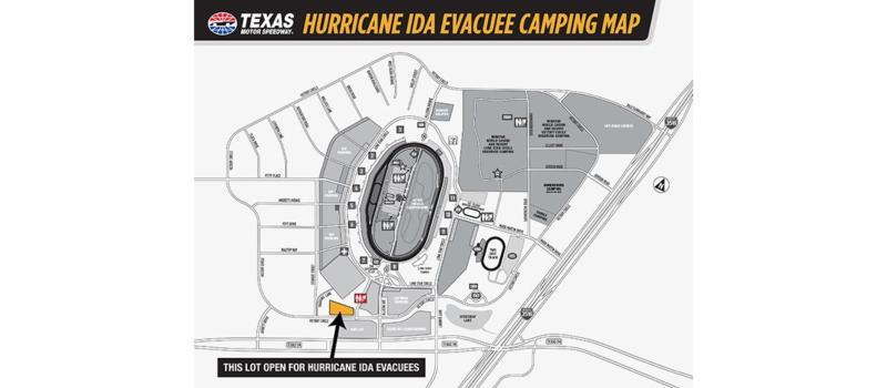 Hurricane Ida Evacuee Map 1084x475