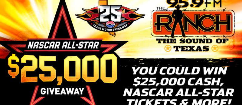 TMS 95.9 The Ranch $25,000 All-Star Giveaway TWFB